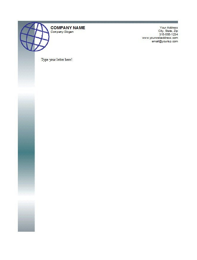 Free letterhead templates businessprofessional doc format the different layouts and different designs will give you a lot of option to make an attractive letterhead download template thecheapjerseys Choice Image