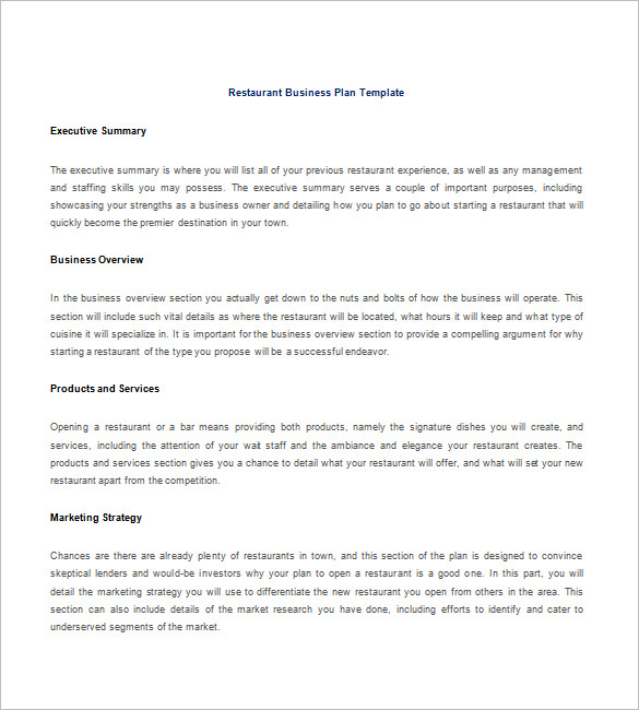 15 free business plan template word pdf template section. Black Bedroom Furniture Sets. Home Design Ideas
