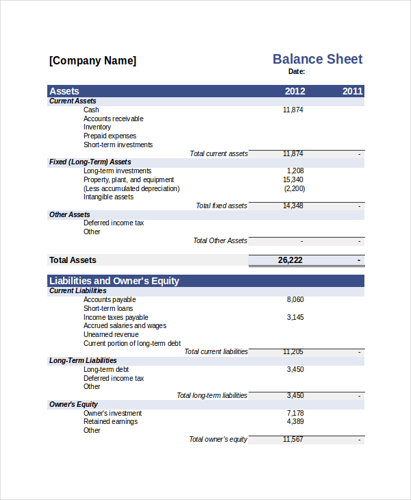 Free Bank Statement Templates 10 Balance Excel Word Template