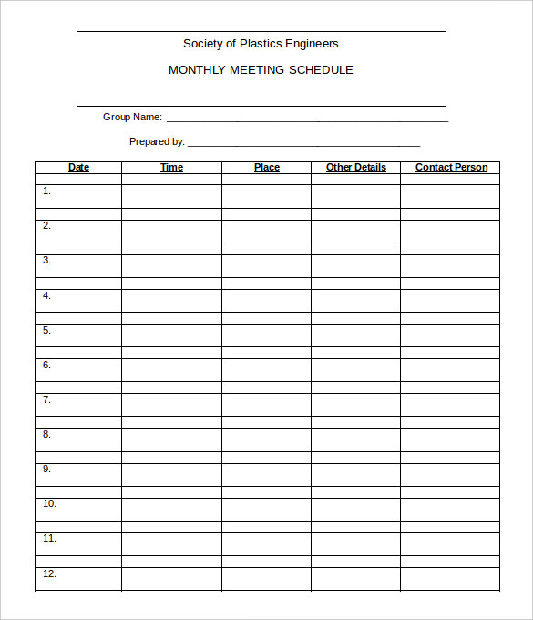free work schedule templates weekly monthly daily template section