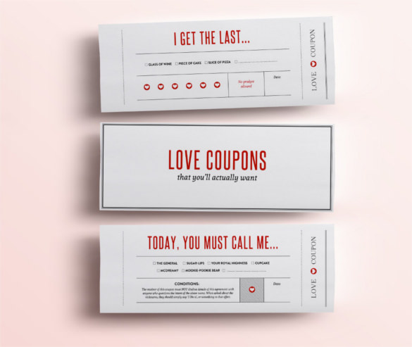 Coupon Template, Blank Coupon Template, Free Coupon Template, Gift Coupon  Template, Birthday  Blank Coupon Templates