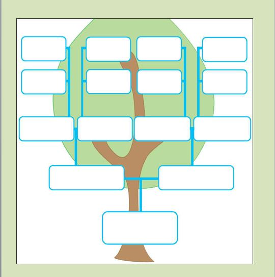 Free Genogram Templates - 8+ Family Word Powerpoint - Template Section