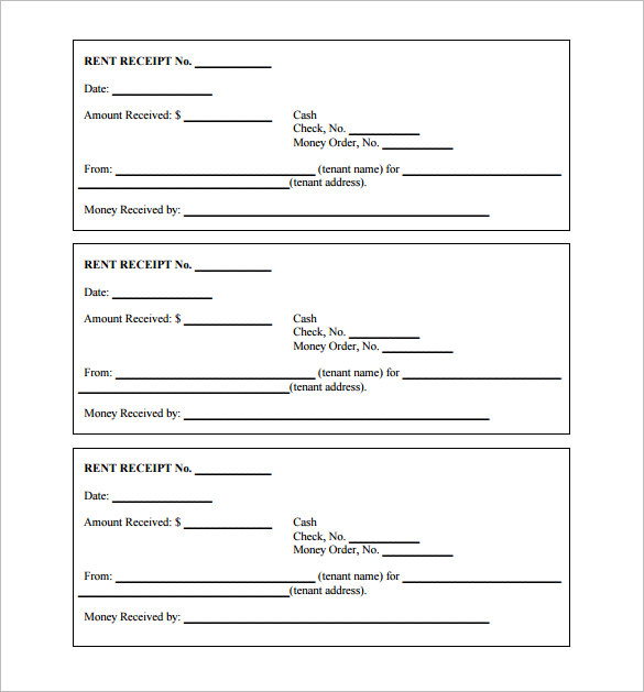 free receipt templates 12 restaurant service word samples