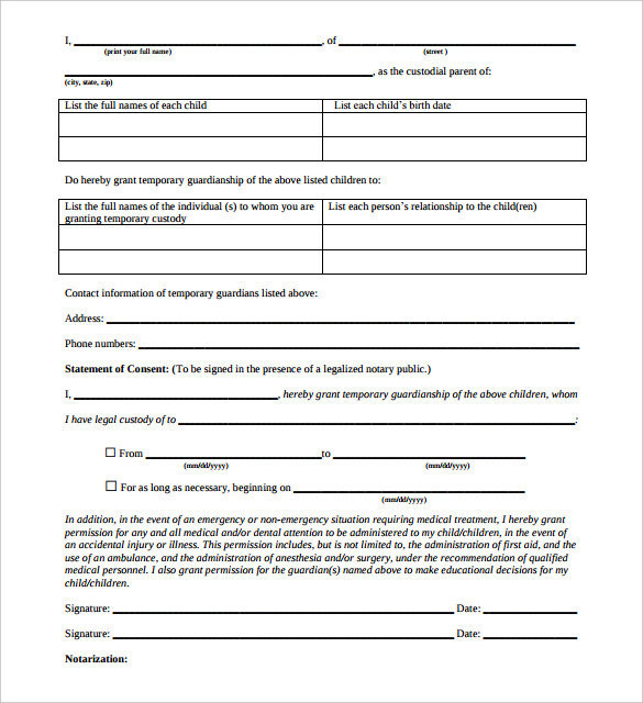 Free Notarized Letter Template Sample Format Example Template