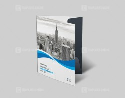 PSD Presentation Folder Template