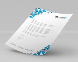 Premium Corporate Letterhead Template