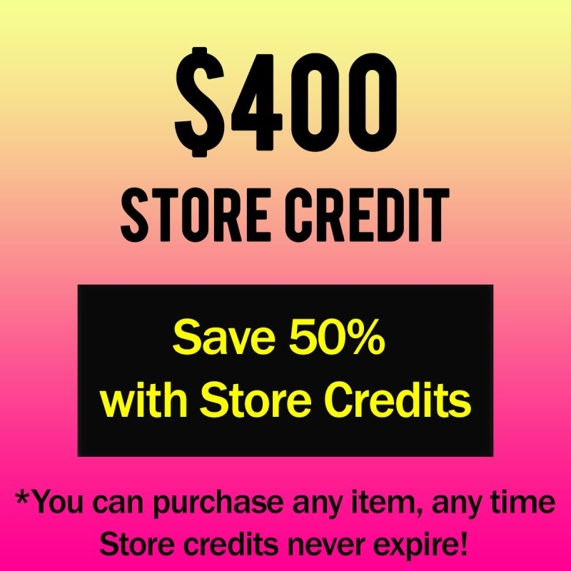 400 Credits