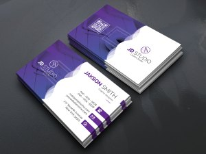 EPS Vibrant Business Card Templates