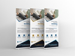 Clean Roll-Up Banner Template
