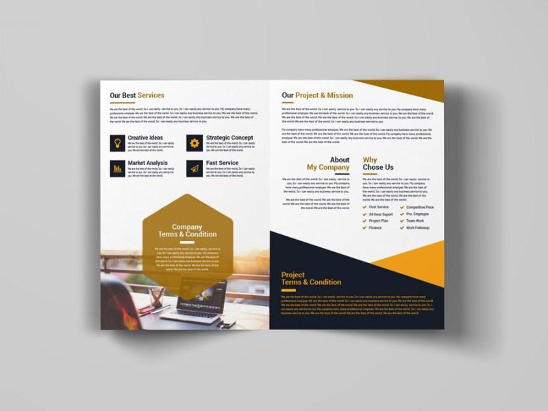 Bi Fold Booklet Template