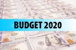 Budget 2020 Stock Photo
