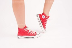 Red All Star Sneakers
