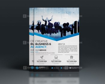 PSD Creative Flyer Template