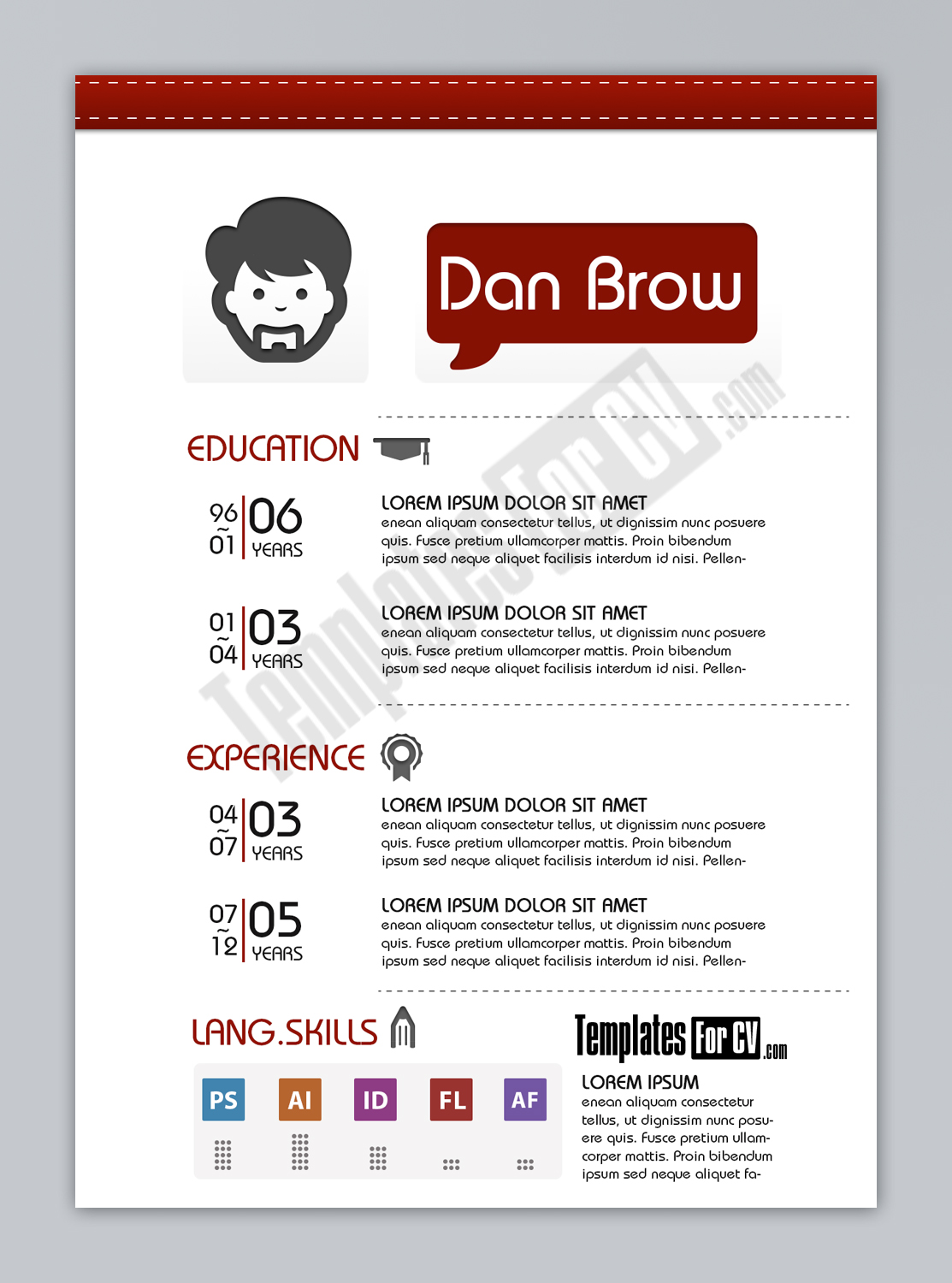 Resume Template Designer 21 Stunning Creative Resume Templates