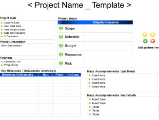 Gated Project Report Template