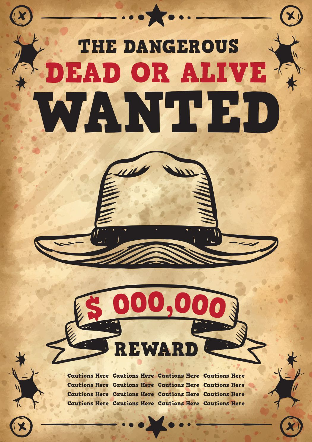 free wanted poster template 25