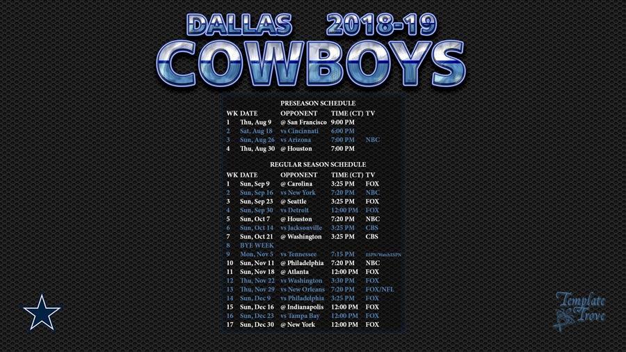 dallas cowboys screensaver 2018