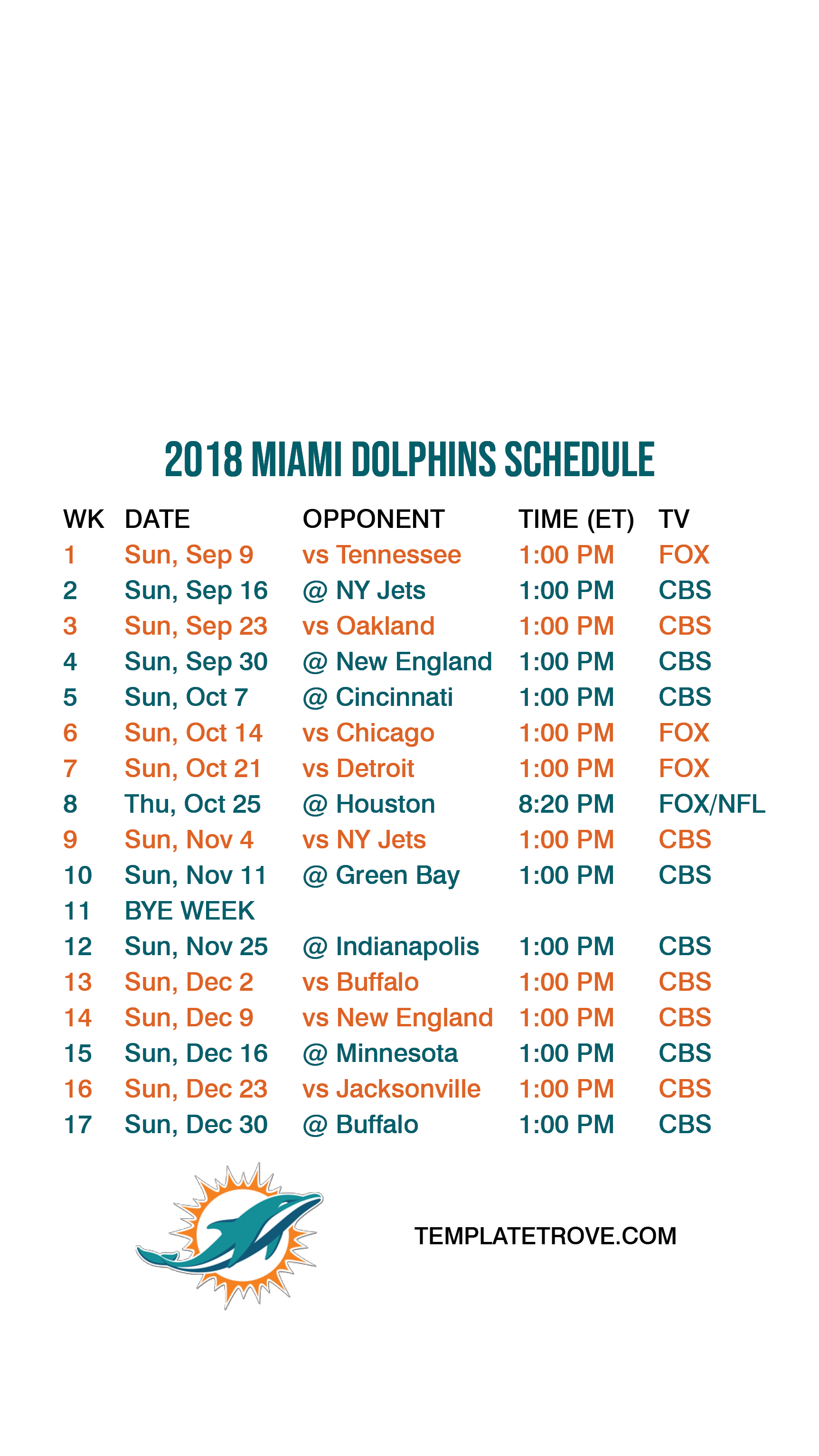Buffalo Bills Iphone Wallpaper 2018 2019 Miami Dolphins Lock Screen Schedule For Iphone 6