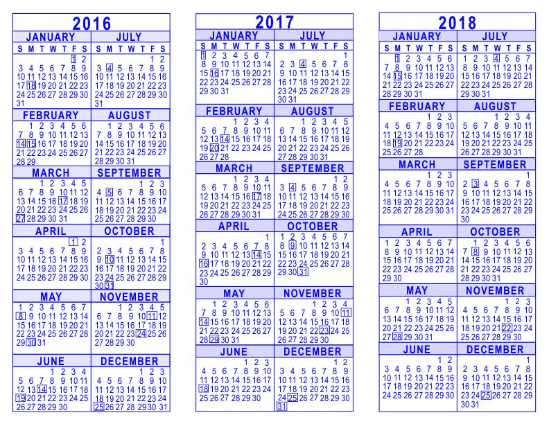 √ 2018 Broadcast Calendar Calendar Template 2017