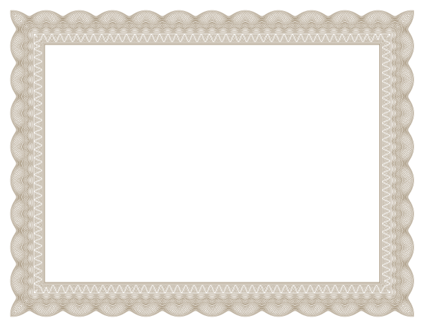 Free Certificates Templates Borders Frames and More