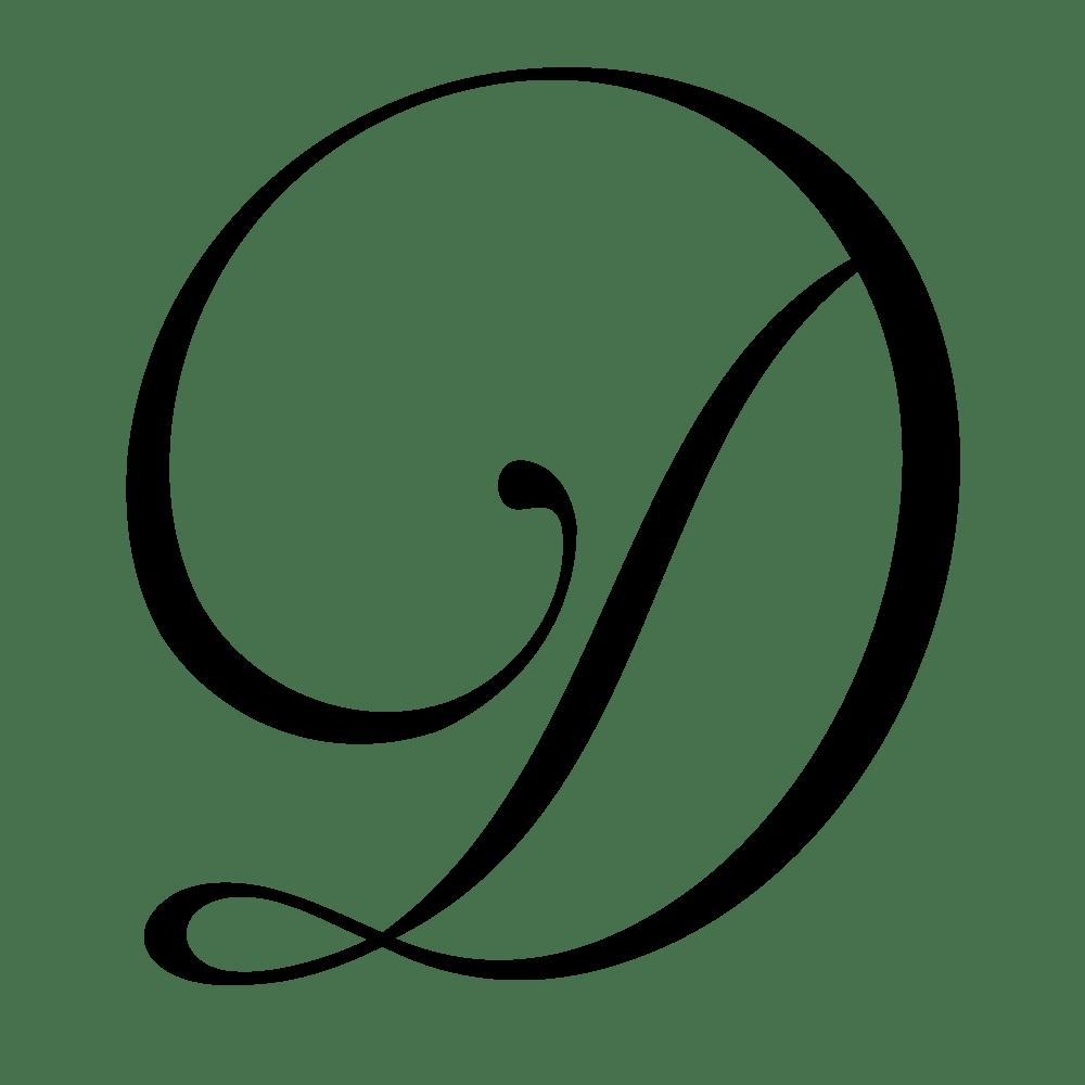 Wedding Monogram Letters 3
