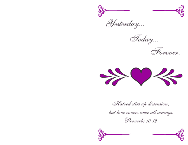 wedding programs cover free download