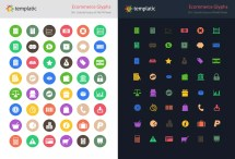 Ecommerce And Power Glyphs - Free Icon Sets Of Total 500