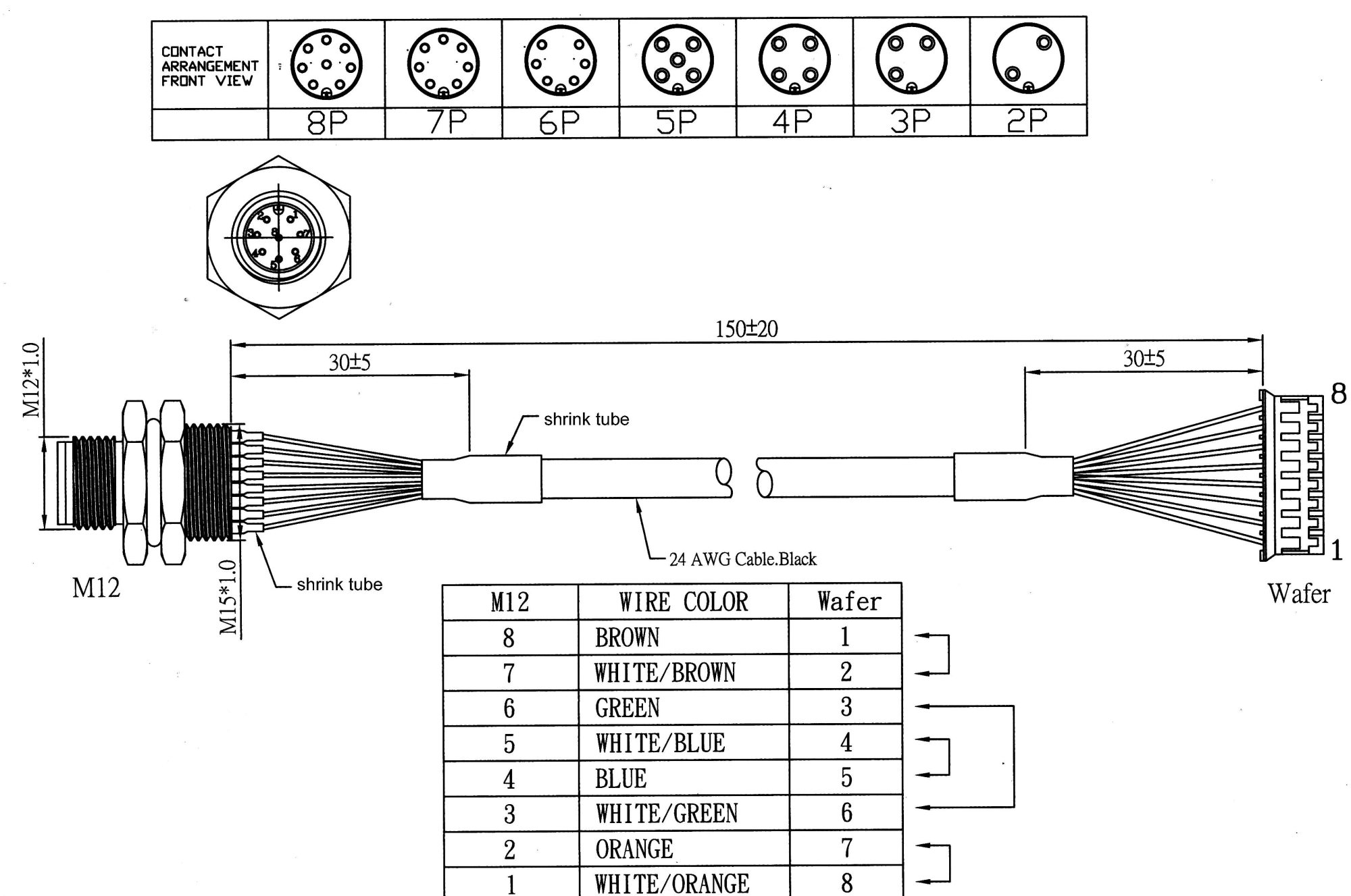 hight resolution of 4 pin m12 connector wiring diagram 8 pin connector wiring cat 6 rj45 wiring diagram
