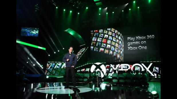 Xbox E3 2015 Keynote - Backwards Compatibility