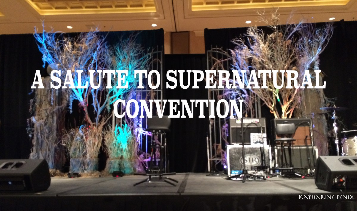 A Salute to Supernatural Convention in Las Vegas - It's the place to be! Part 1