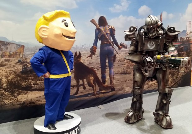 and tried to worm my way into the vault-dweller's power armour
