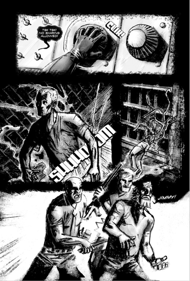 The Chair Comic Series Reviews at ComicBookRoundUp.com