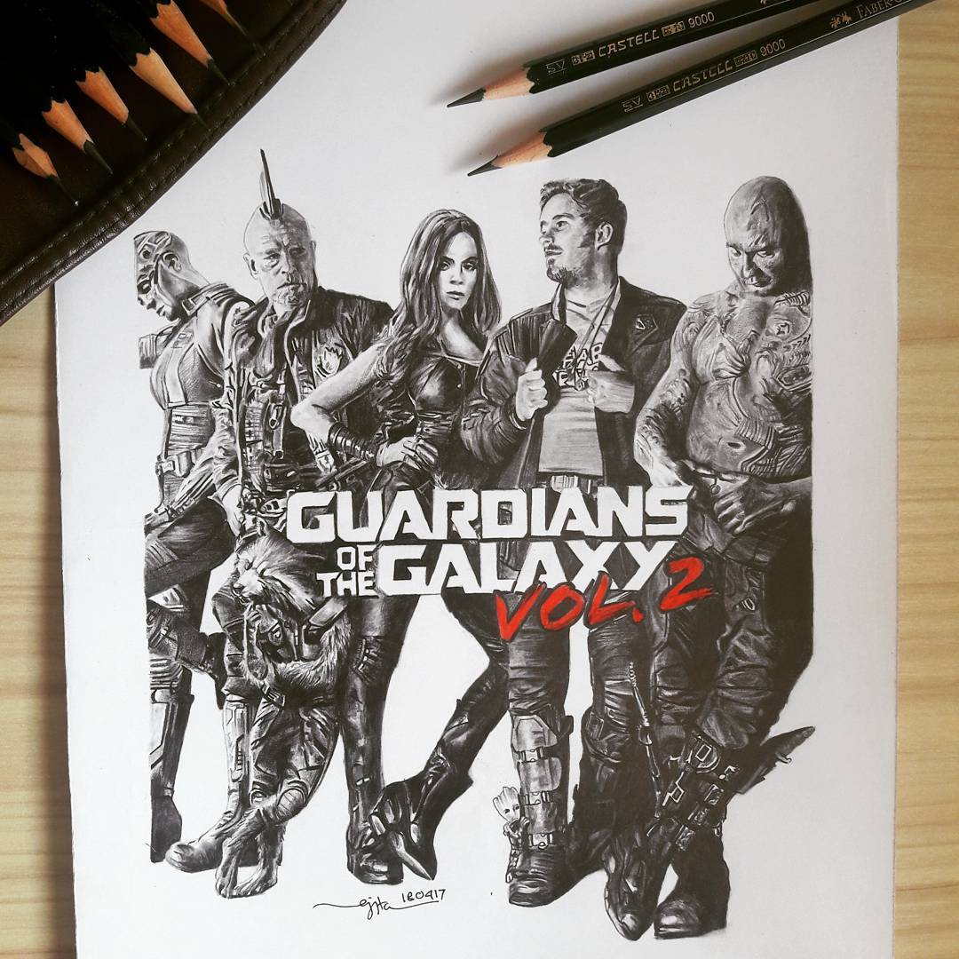 Fan Art Friday: Guardians of The Galaxy