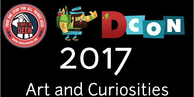 Art and Curiosities from Designer Con 2017