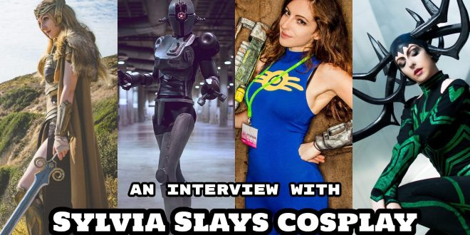 COSPLAY FRIDAY: An Interview with Sylvia Slays Cosplay