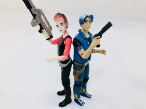Ready Player One 4-Figure Set
