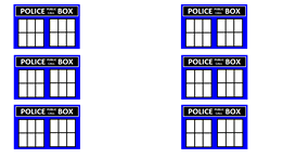 photograph about Tardis Printable known as Physician Who Bash Designs