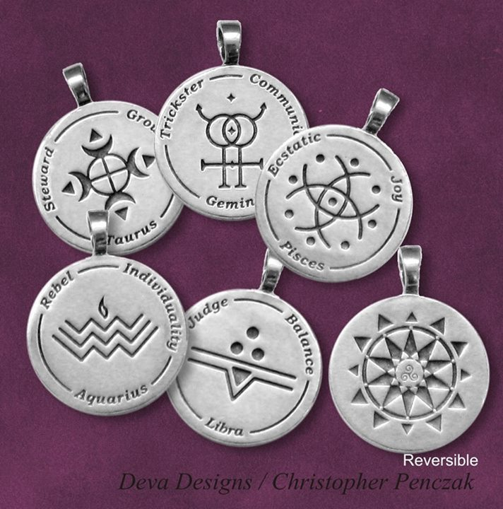 Temple star wisdom pendants temple of witchcraft thanks to the wonderful artisans at deva designs the temple of witchcraft is proud to offer star wisdom pendants based on our ministries aloadofball Choice Image
