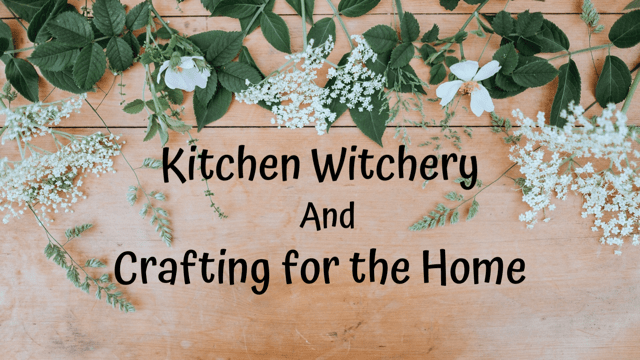 Kitchen Witchery and Crafting for the Home logo