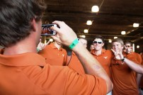 These Texas teammates tried to capture every moment.