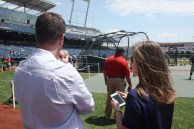 Doug and Abby before the first CWS game of the year.