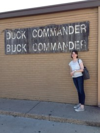 Can't drive through West Monroe without stopping at Duck Commander. Love me some Duck Dynasty!