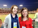 Not much beats covering the College World Series with your best friend.