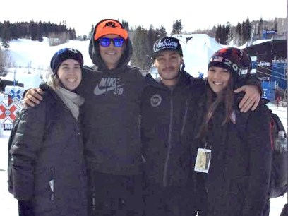 What a great way to spend our first day at Winter X -- hanging with our friends (soon-to-be gold medalist!) Keith Gabel and Mike Shea before the first Snowboarder X Adaptive race in X history.