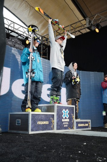 Two of our favorite skiers, Joss and Nick, took silver and gold. Way to go, Team USA!