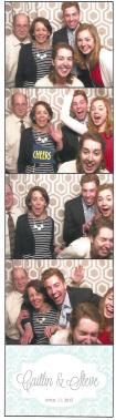...and this is what happens when your sister puts an ice cube down your back halfway through the photo booth.