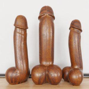 phallic statues