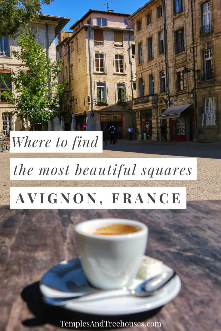 the most beautiful squares in avignon