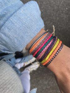 664-Argantina-bracelet-purple-gold-dot-guanabana-woven-bracelet-templestones-3
