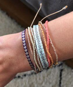 664-Argantina-bracelet-purple-gold-dot-guanabana-woven-bracelet-templestones-4